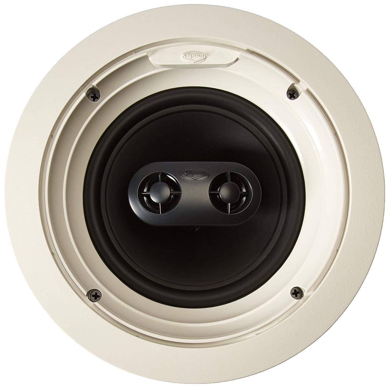 Amazon.com: Klipsch R-1650-CSM In-Ceiling Speaker - White (Each ...