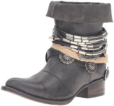 b7af164ff57 Freebird Women s Yerba Western Boot Black 6 ...
