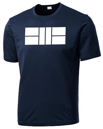 Men's Dri Fit Pickleball Court Shirt