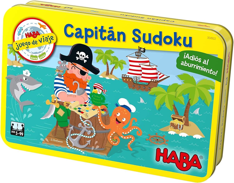 HABA- Juego de Mesa, Capitán Sudoku, Multicolor (Habermass H304922 ...
