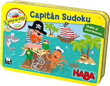 HABA- Juego de Mesa, Capitán Sudoku, Multicolor (Habermass ...