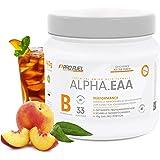 ALPHA.EAA | Premium EAA Pulver | Alle 8 essentiellen Aminosäuren | Erfrischend & Leicht | Top Löslichkeit und sensationeller Geschmack | Made in Germany | 462g - ICE TEA PEACH (Eistee Pfirsich)