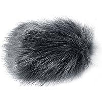 Neewer NW-MIC-121 Outdoor Microphone Furry Windscreen Muff for MIC-01 MIC108 MIC-121 Stereo Microphone, TAKSTAR SGC-598, NW-598, SHENGGU SG209 SG108 And Similar Mics (Silver Grey)