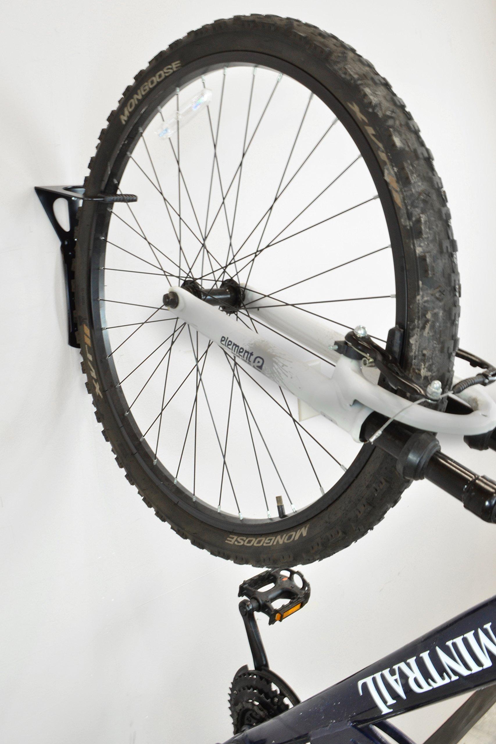 Lumintrail Heavy Duty Bicycle Wall Hanger Vertical Bike Storage Rack by Lumintrail (Image #6)