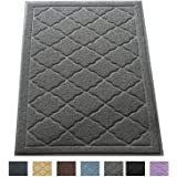 """Premium Large Cat Litter Mat 35"""" x 23"""", Traps Messes, Easy Clean, Durable, Phthalate Free, Litter Box Mat with Scatter Control - Soft on Kitty Paws"""