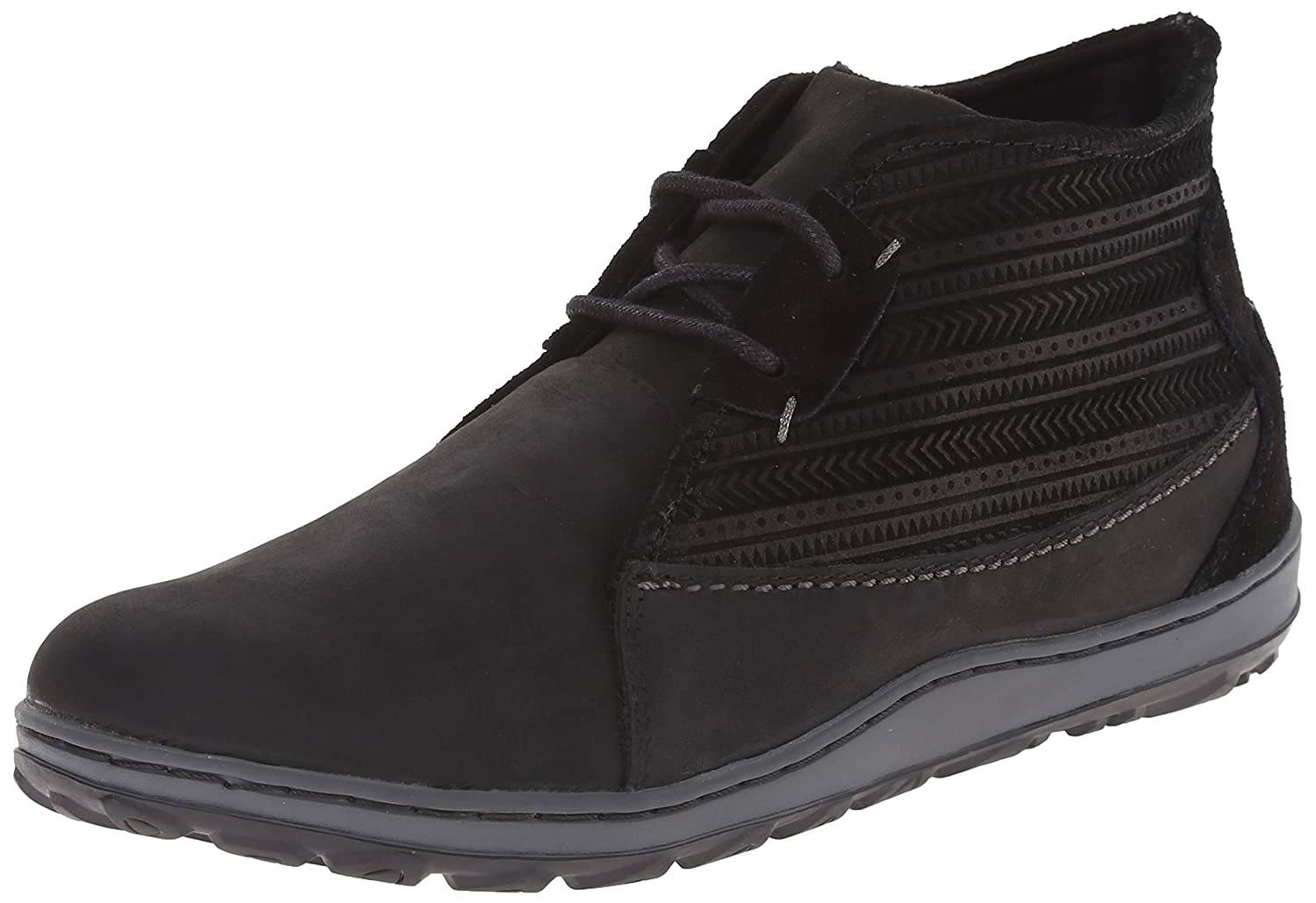 Merrell Women's Ashland Chukka Boot B00RDQJ8IE 7 B(M) US|Black