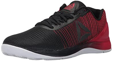 info for 31554 4fff1 Reebok Men s Crossfit Nano 7.0 Cross-Trainer Shoe, Black White Primal red