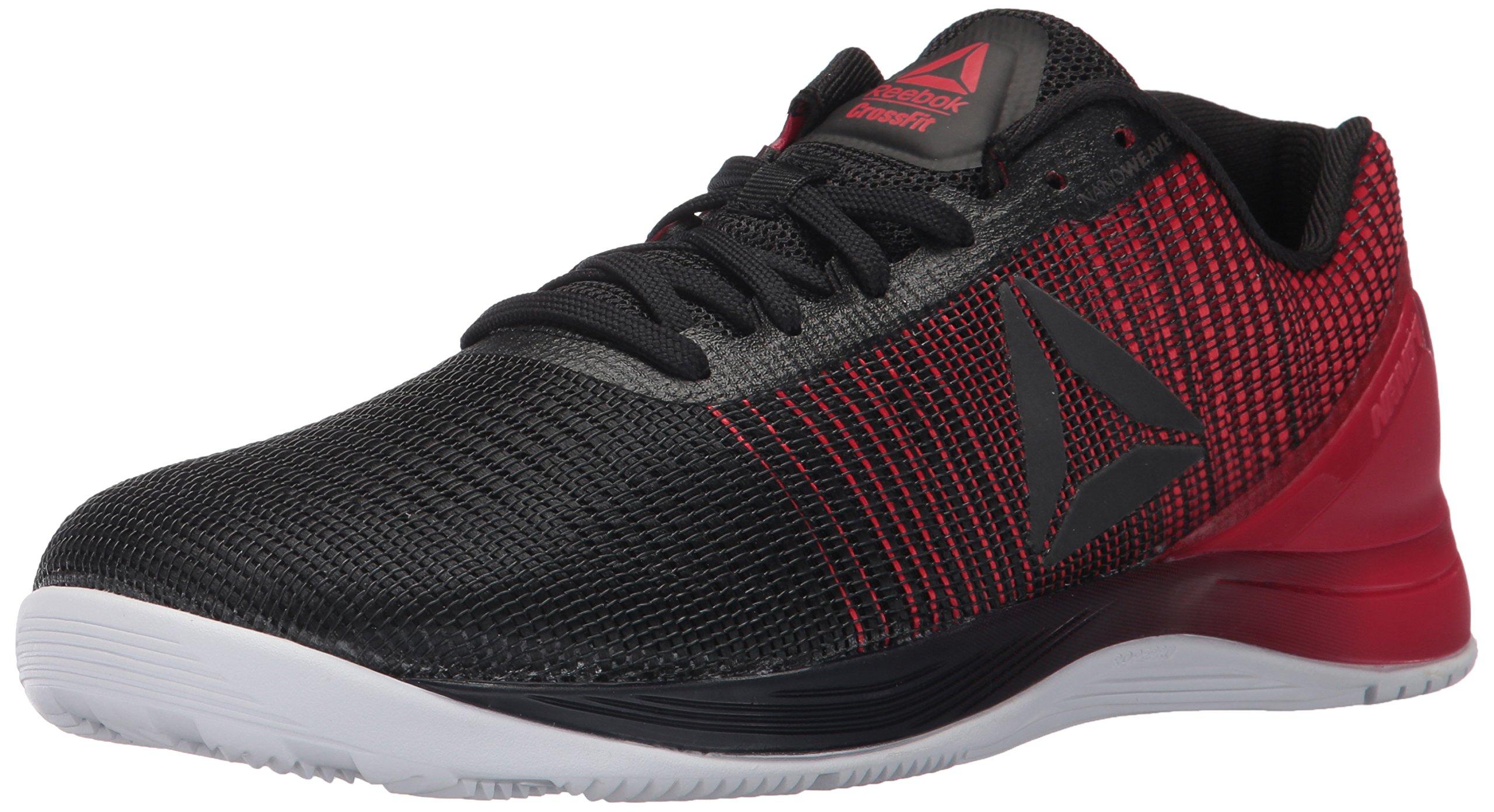 Reebok Men's Crossfit Nano 7.0 Cross-Trainer Shoe, Black/White/Primal Red, 13 M US