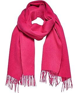 first rate f3ce0 96931 SELECTED FEMME Damen Schal Slftime Wool St weiss (10) 000 ...