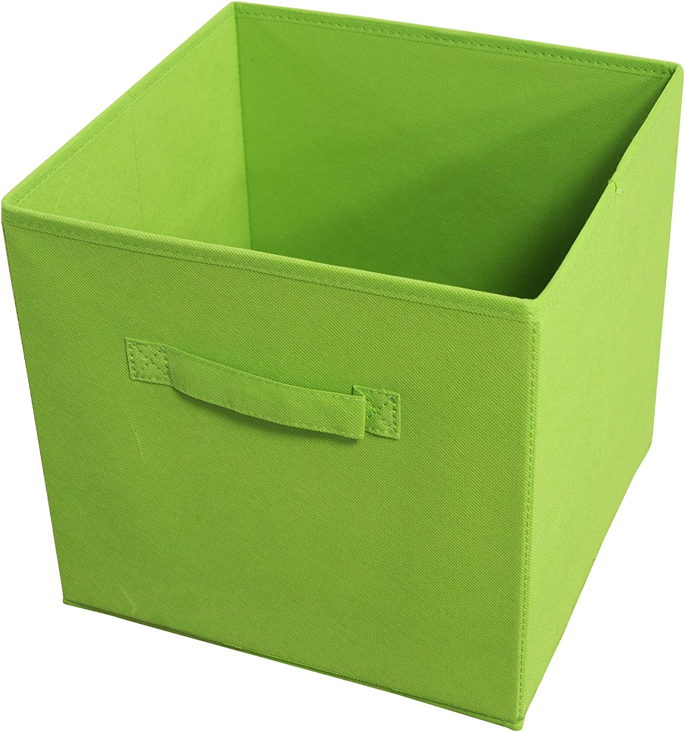Achim Home Furnishings Collapsible Storage Bins, Set of 4, Green