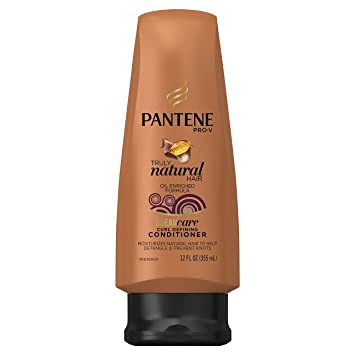 84b74cedfc163 Amazon.com   Pantene Pro-V Truly Natural Hair Curl Defining Conditioner 12  Fl Oz   Standard Hair Conditioners   Beauty