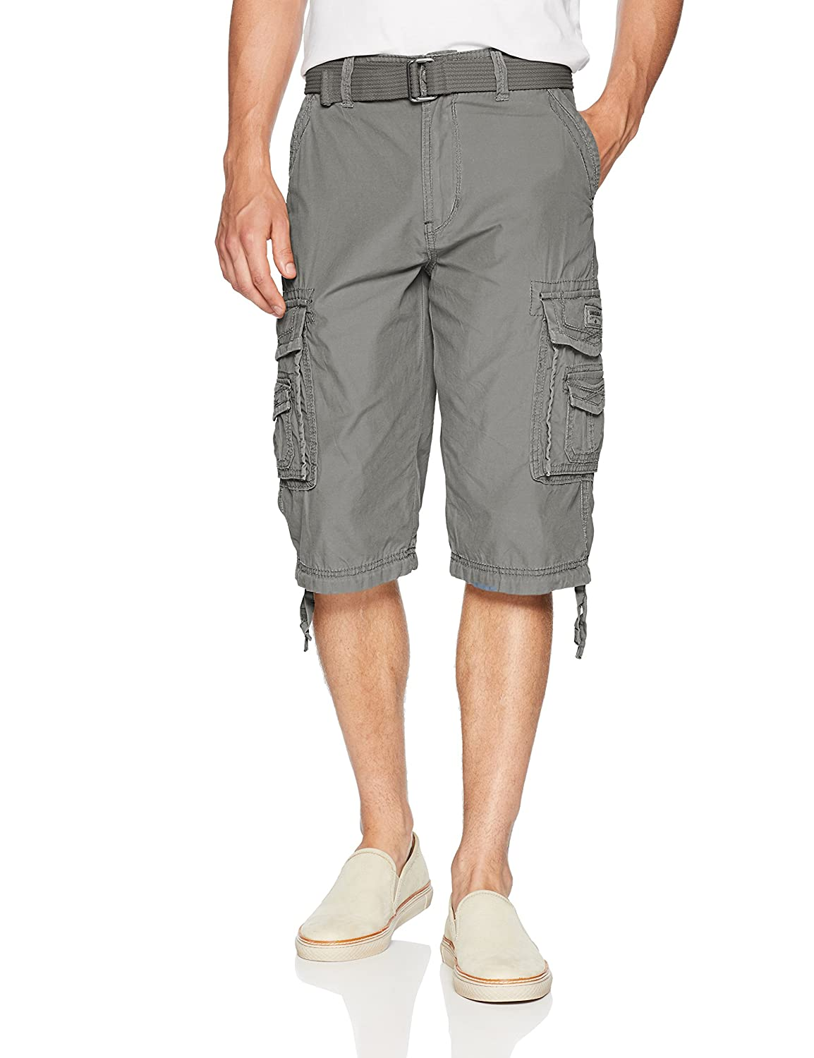 UNIONBAY Men's Cordova Belted Messenger Cargo Short - Reg and Big and Tall Sizes Unionbay Young Men's Y188X8N