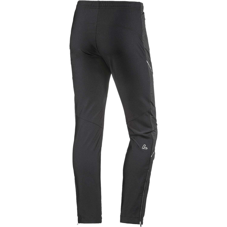 Löffler Funktionshose Sport Micro Mix Damen Langlaufhose schwarz