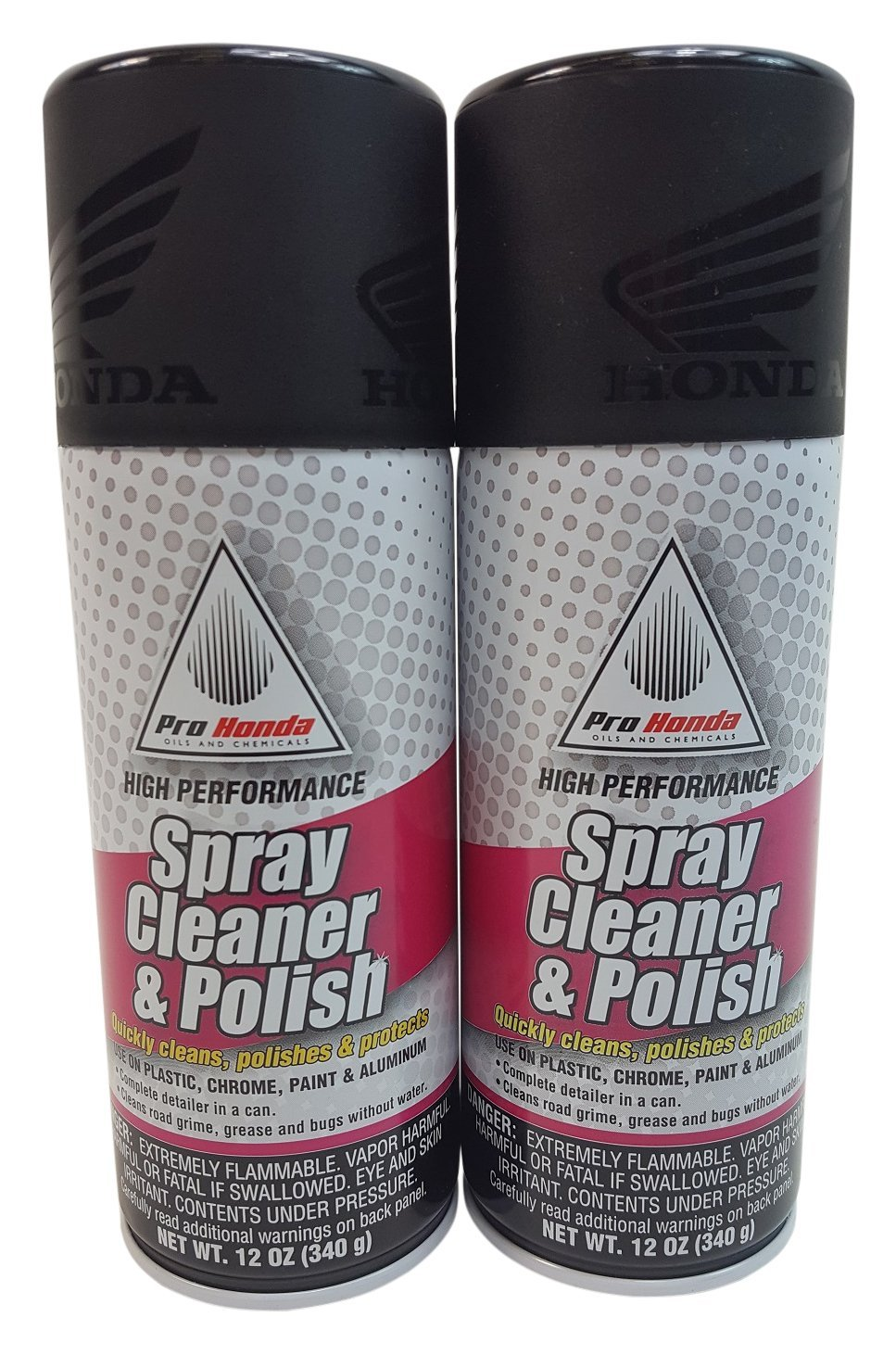 HONDA 08732-SCP00 Spray Cleaner and Polish, 12 oz., 2 Cans