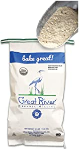 Great River Organic Milling, Bread Flour Blend, Seven Grain Blend, Stone Ground, Organic, 25-Pounds (Pack of 1)
