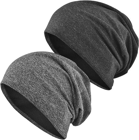 Unisex Slouchy Hat BlackPinkGreen Boho Stripe Fleece Slouchy Beanie Slouchy Beanie Unisex Slouchy Beanie SALE