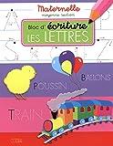 Bloc d'écriture maternelle moyenne section - Les lettres - dès 4 ans