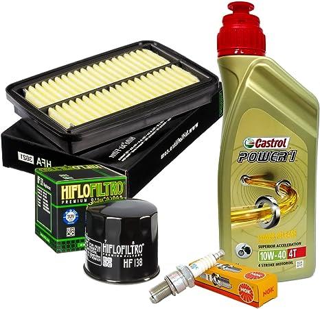 Wartungskit Castrol 10 W40 Filter Öl Luft Kerzen Gsf Gsx F 650 1250 Bandit Auto