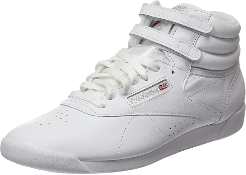 Reebok Freestyle Hi Sneakers High Top Damen Schuhe Weiß