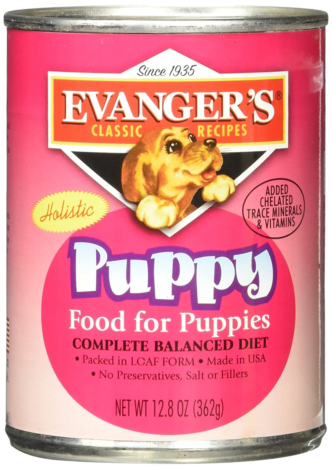 Evangers Complete Classic Dinners Puppy 12x13 oz