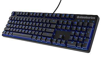 SteelSeries Apex M400, Teclado para Juego, mecánico, con retroiluminación Azul, (PC
