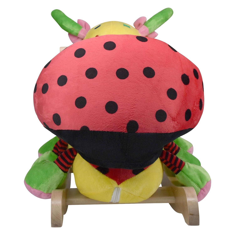 Amazon Rockabye Lulu Ladybug Rocker Yellow Toys Games