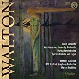 Walton: Violin Concerto; Hindemith Variations; Partita; Spitfire Prelude and Fugue [Anthony Marwood; BBC Scottish Symphony Orchestra; Martin Brabbins] [Hyperion: CDA67986]