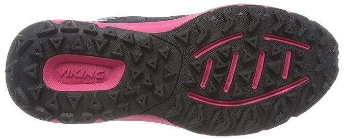 Viking Apex II GTX, Damen Traillaufschuhe, Schwarz (Black/Dark Pink 239), 38 EU