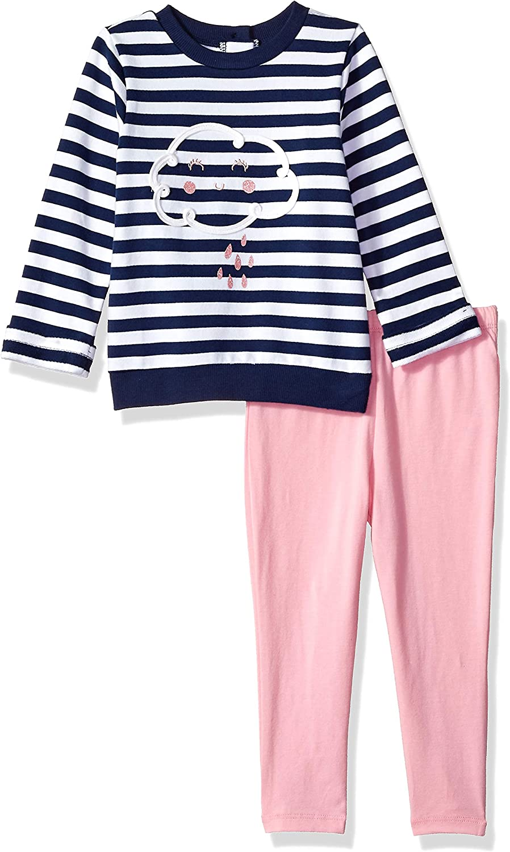 Little Me Girls Toddler Sweatshirt Set