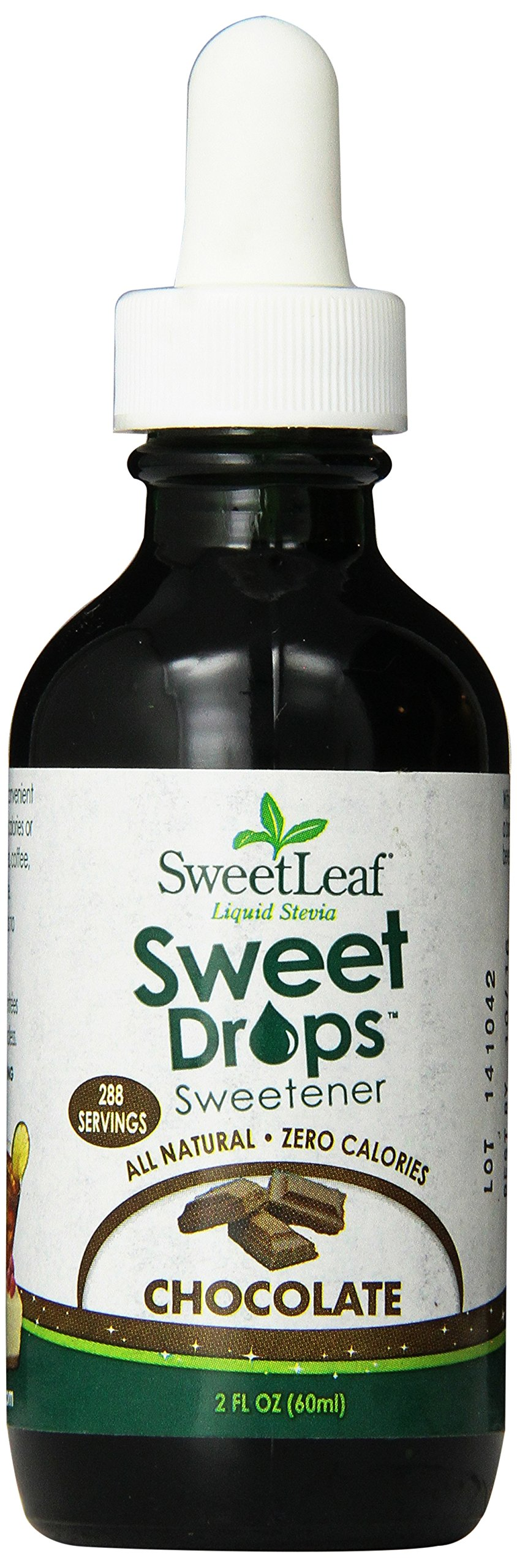 SweetLeaf Sweet Drops Liquid Stevia Sweetener, Chocolate, 2 Ounce