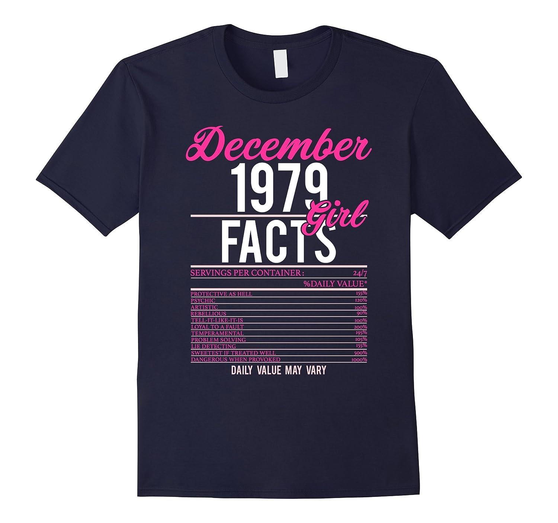 December 1979 Facts Girl Birthday T-Shirt Sagittarius Pride