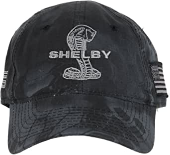 Shelby Black Camo Cap Hat | Officialy Licensed Shelby Product | Adjustable, One-Size Fits All