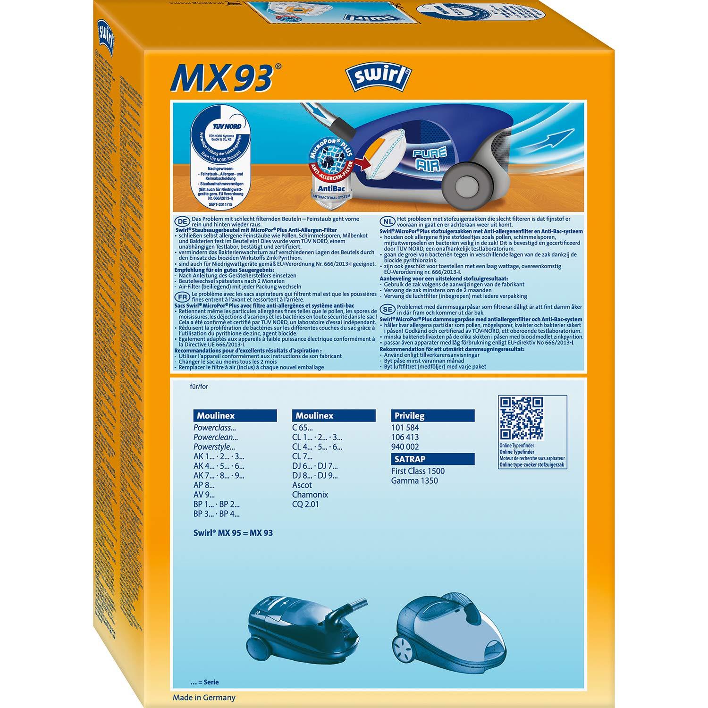 Swirl MX 93 Sacchetto per la polvere