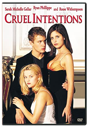Amazoncom Cruel Intentions Sarah Gellar Ryan Phillippe Reese