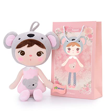 Amazon Com Me Too Keppel Stuffed Koala Baby Girl Dolls Plush Toys