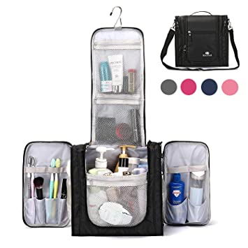 Large Hanging Travel Toiletry Bag for Men and Women Waterproof Makeup  Organizer Bag wash bag Shaving bffa844eb01a3