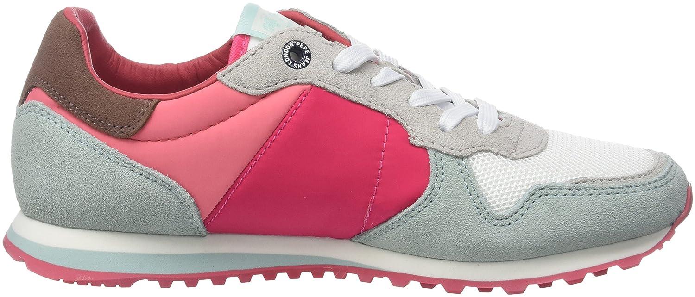 Pepe Jeans London Verona W Casidi, Zapatillas para Mujer, Rosa (Disco Pink), 38 EU