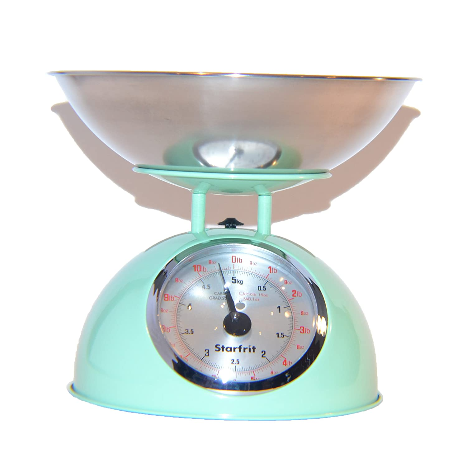 Starfrit Kitchen Scale with Stainless Steel Bowl (Green): Amazon.ca ...