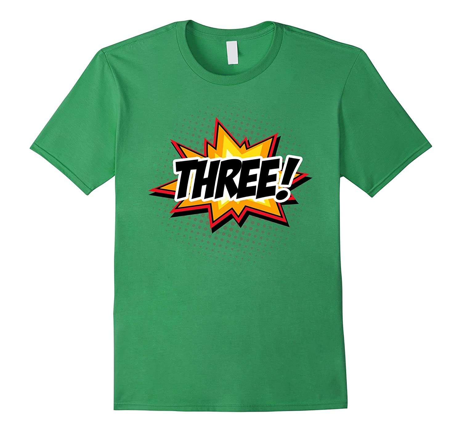 SuperHero Birthday Shirt 3 Year Old Boys And Girls ALL AGES CL