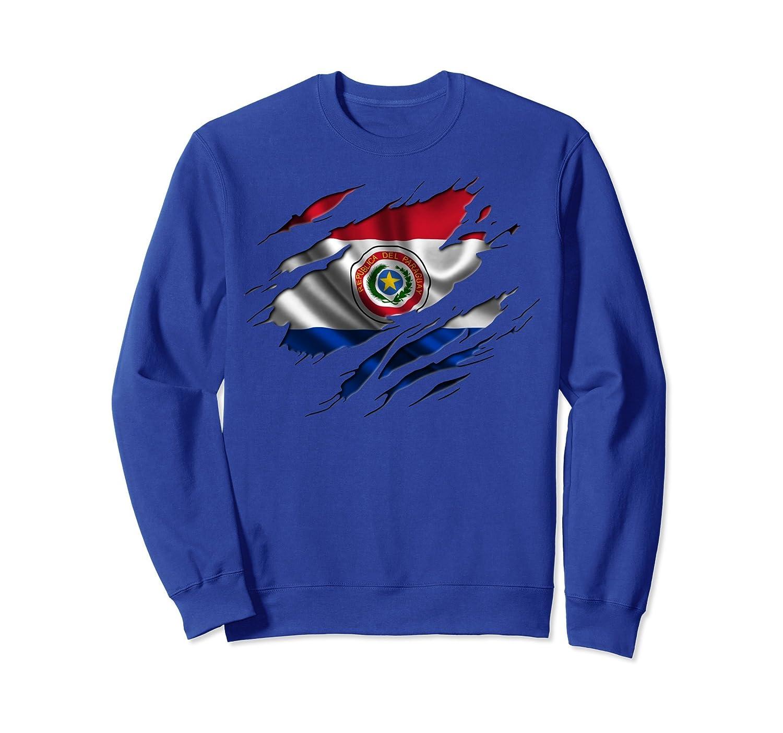 PARAGUAY Shirt Paraguayan Flag Sweatshirt Travel Gift-fa