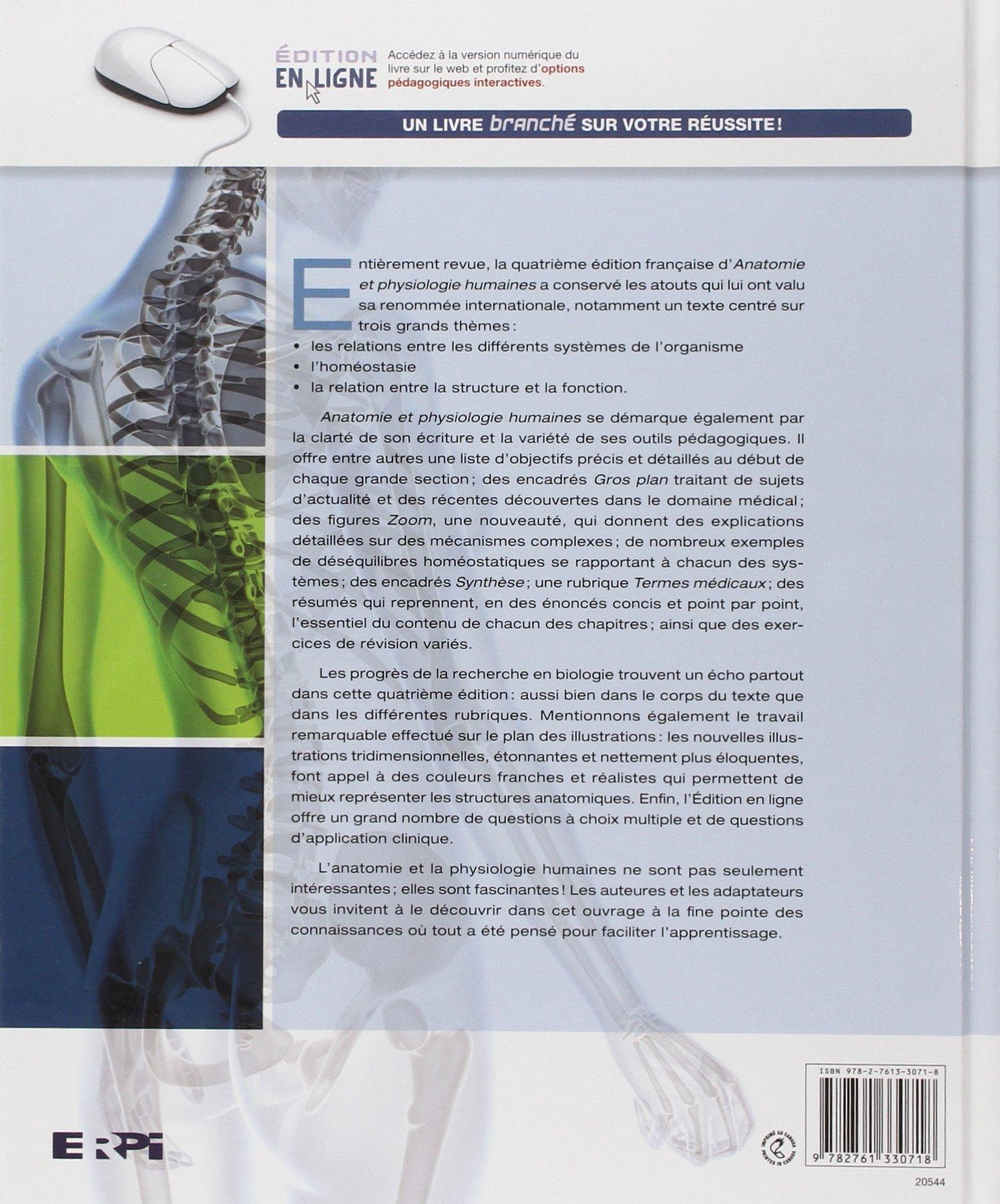 Anatomie et physiologie humaines + eText: Edition reliée et ...