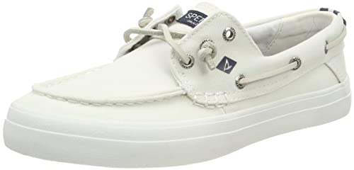 Crest Resort Washed Can. White, Womens Boat Sperry Top-Sider