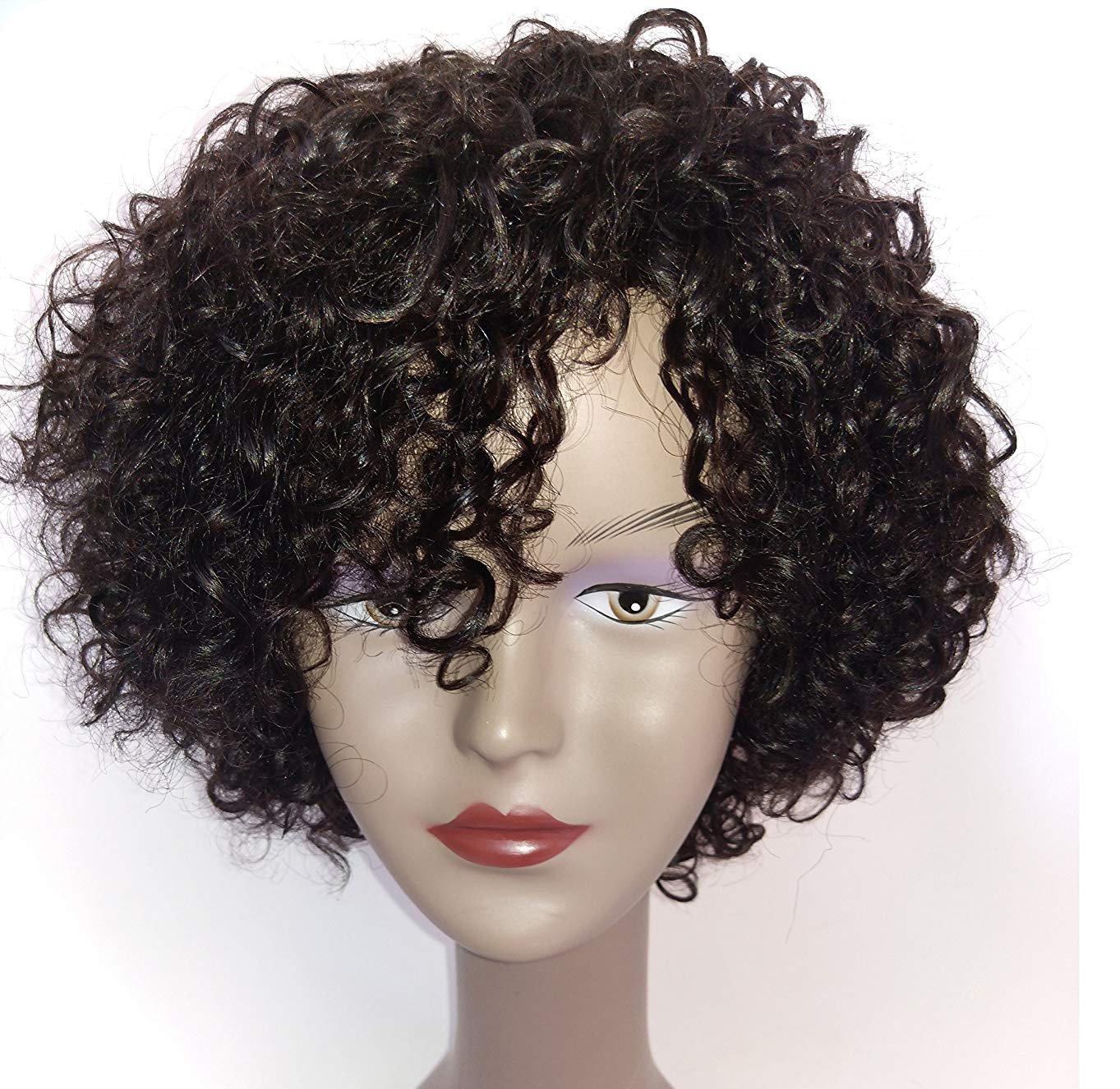 Amazon.com: Brazilian Wigs 10 inch Short