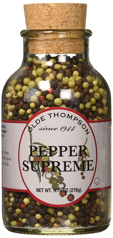 Olde Thompson 9.75-Ounce Pepper Supreme Whole Peppercorns
