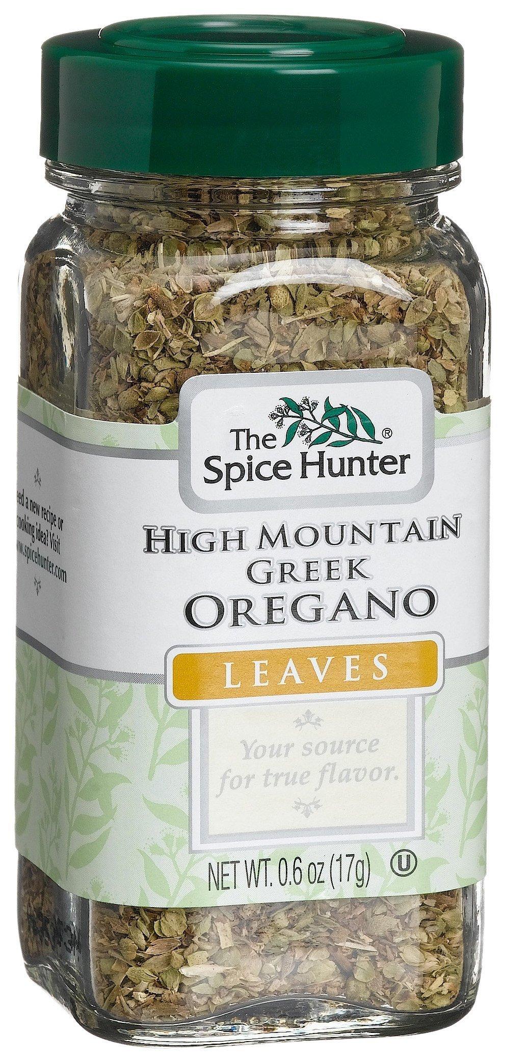 Spice Hunter Greek Oregano, 0.6-Ounce Glass Bottles (Pack of 6)