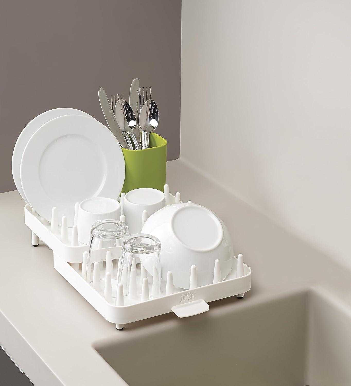 Joseph Joseph Scolapiatti dal Design Regolabile, Plastica, Bianco ...