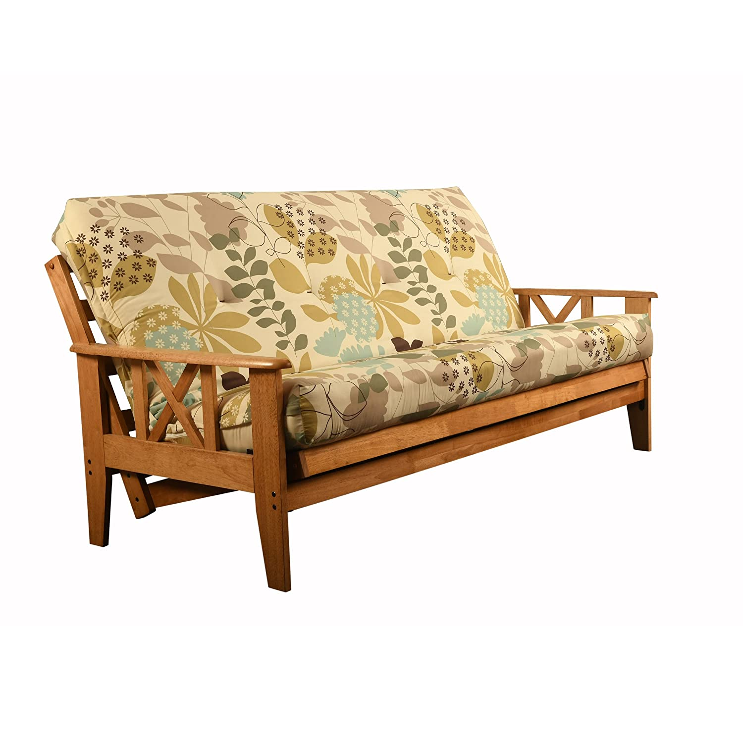 Outstanding St Paul Furniture Eldorado Futon Set Hardwood Frame Full Size W 8 Inch Coil Mattress Sofa Bed Choice To Add Drawer Set Beige Matt And Frame Only Machost Co Dining Chair Design Ideas Machostcouk