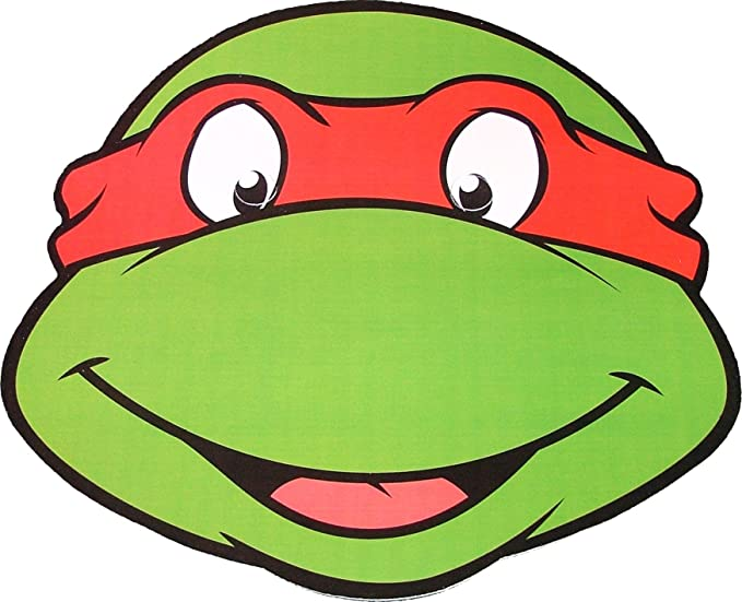 StarCutouts Teenage Mutant Ninja Turtles - Raphael - Card ...