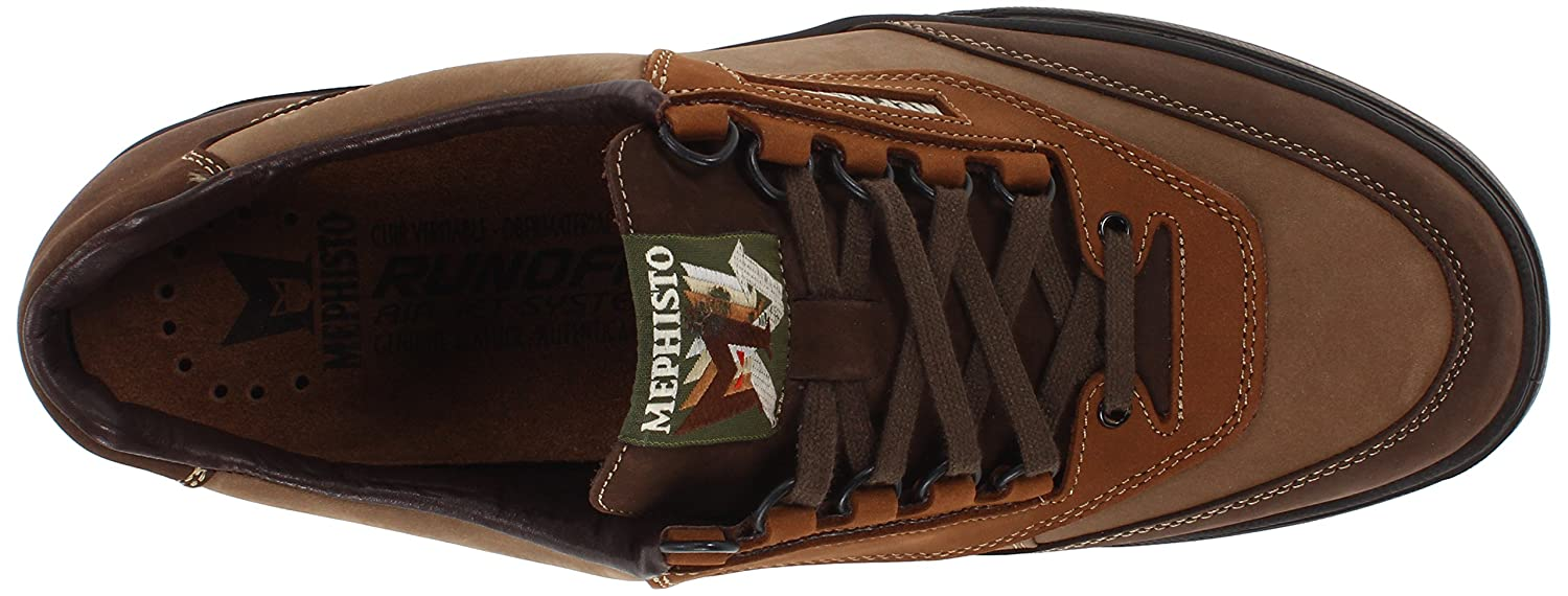 Mephisto Men's Match Walking Men's Shoe B00BTPTF6U 45.5 (US Men's Walking 11.5) D - Medium|Dark Brown/Camel/Hazelnut Nubuck 8177b0