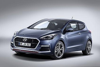 Classic y los músculos de los coches y del arte Hyundai i30 Turbo (2015)